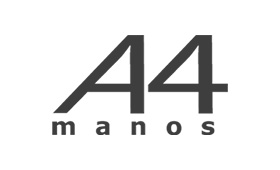 Logo de A 4 manos