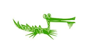 Logo de Caimán Barbudo